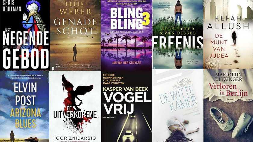 Gouden Strop: De tien spannendste boeken