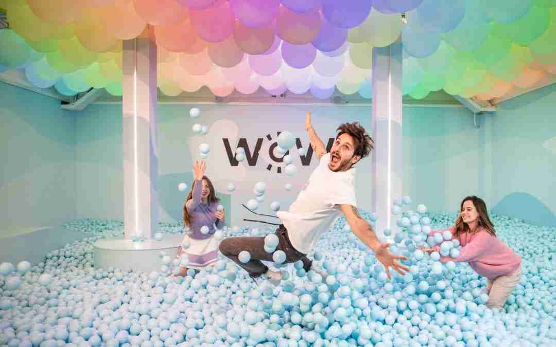 WONDR – Instagrammable pop-up museum in Amsterdam