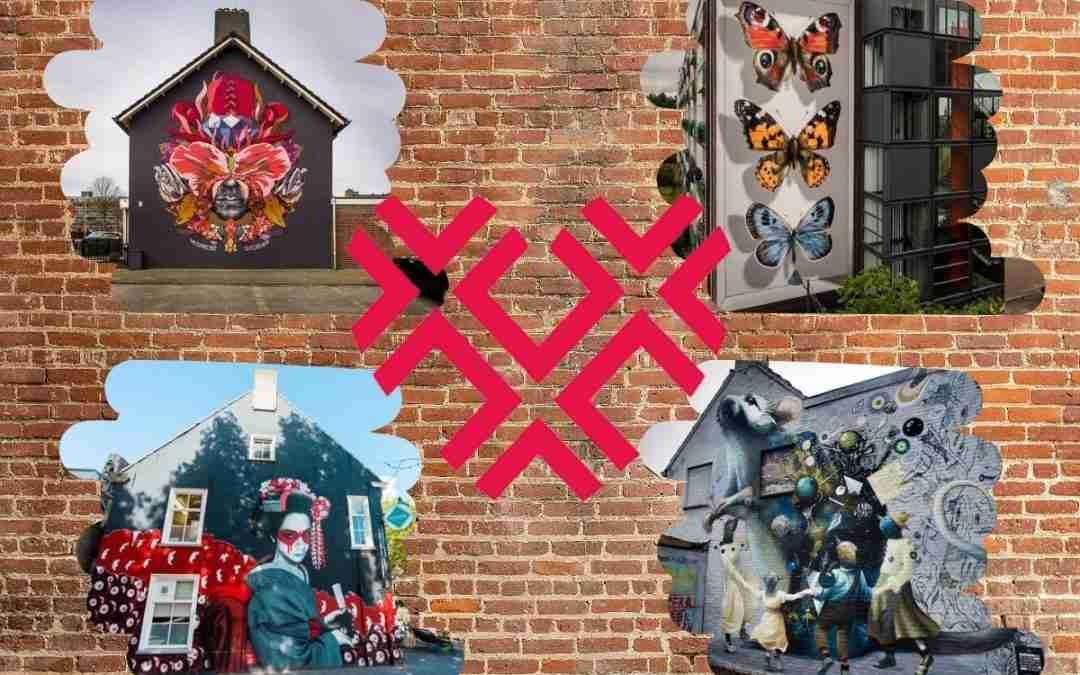 De Blind Walls Gallery van Breda